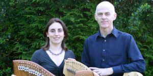 Gráinne Hambly (harp, concertina) & William Jackson (harp, tin whistle, bouzouki) @ Doneraile Court & Estate   Doneraile   County Cork   Ireland